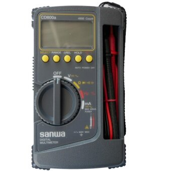 SANWA DIGITAL MULTIMETER CD800A JAPAN