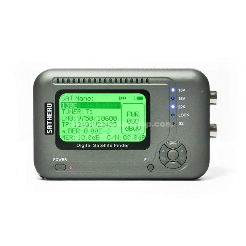 Buy Sathero SH-200HD satfinder dvb-s2 Digital Satellite Finder Meter Sat Finder 200HD High Definition USB 2.0 sathero sh-200 Malaysia