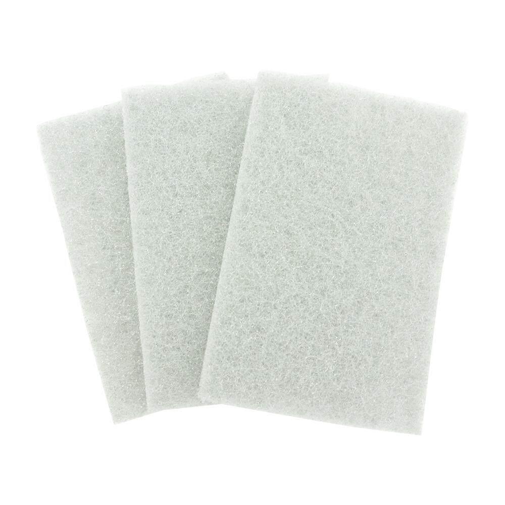 Scouring Pad 3-pcs Set Taiwan - White [XK428A]