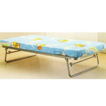 SE2 Metal Foldable Pull Out Single Bed