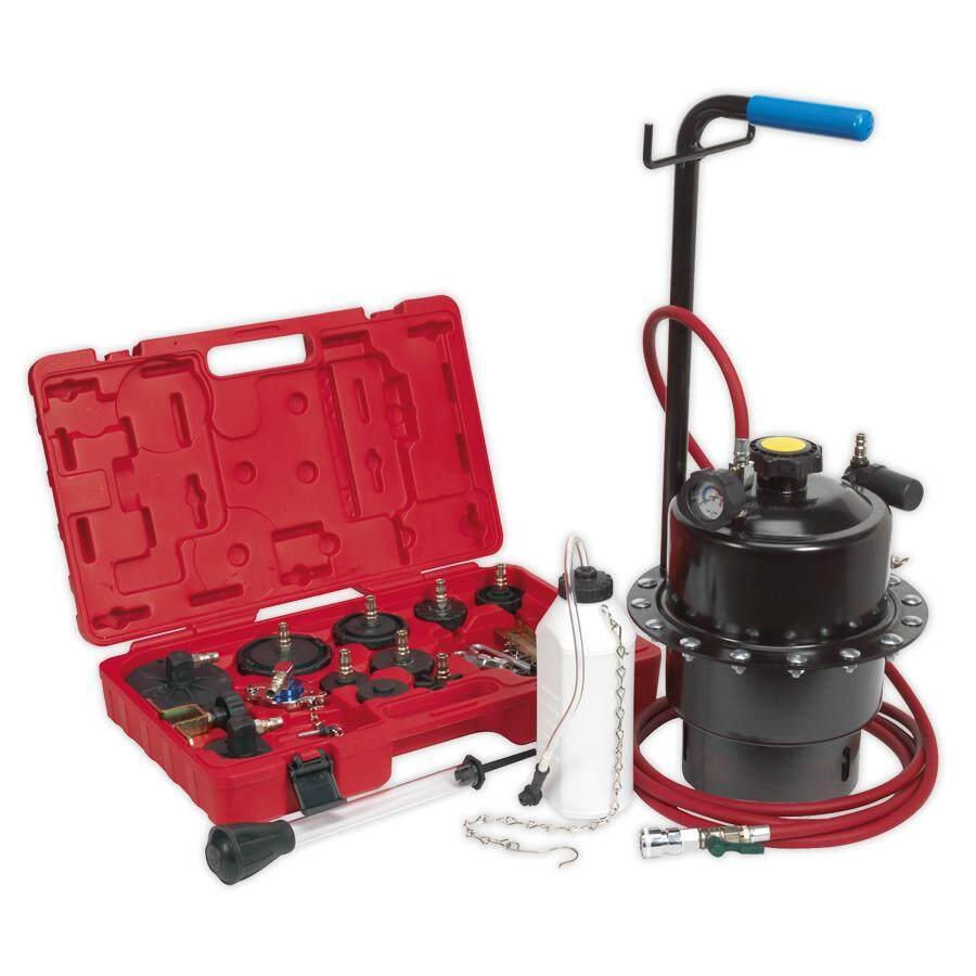 (Clearance) Sealey Pneumatic Pressure Bleeder Kit [Showroom Unit]