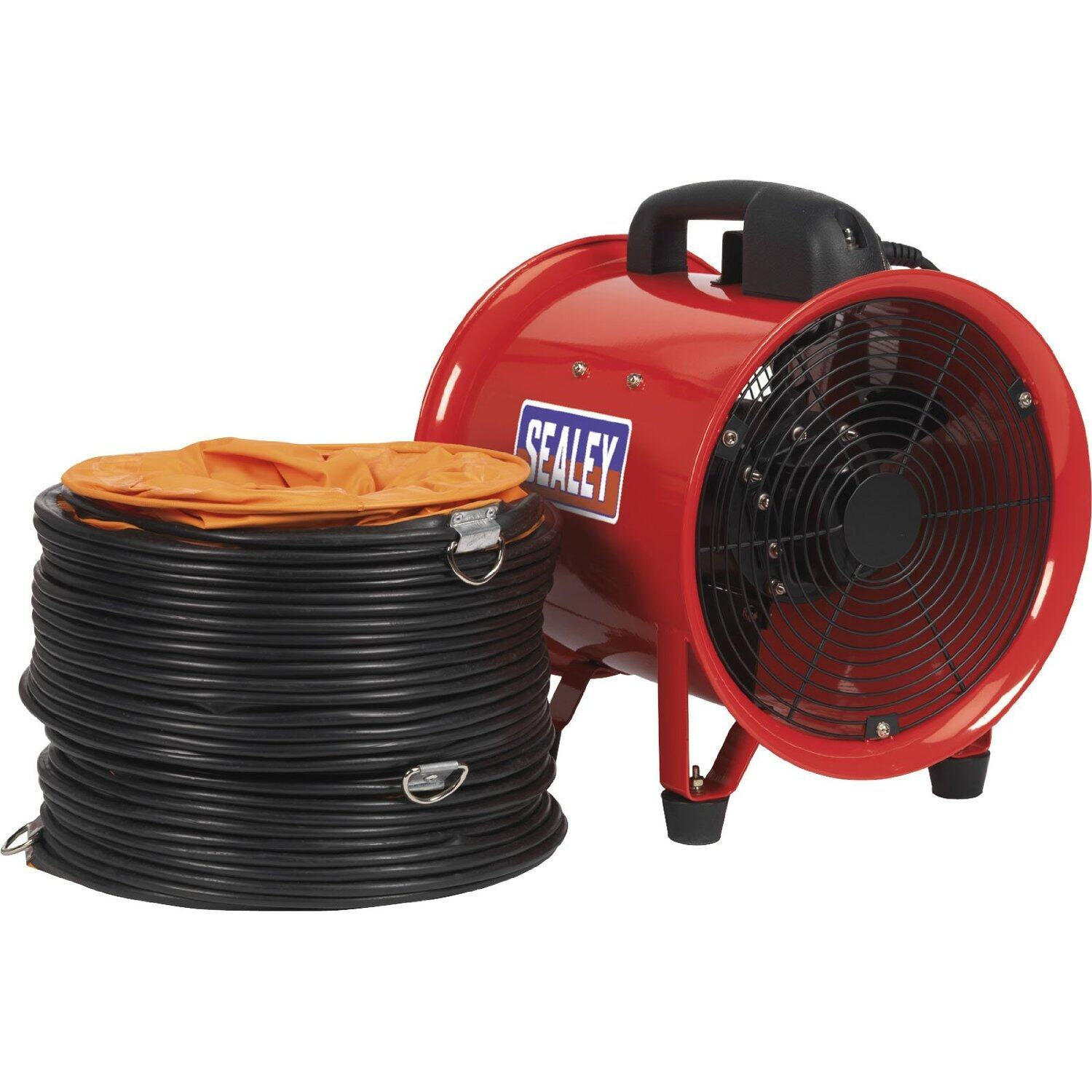 (Clearance) Sealey Portable Ventilator 200mm With 5 Mtr Ducting [Showroom Unit]