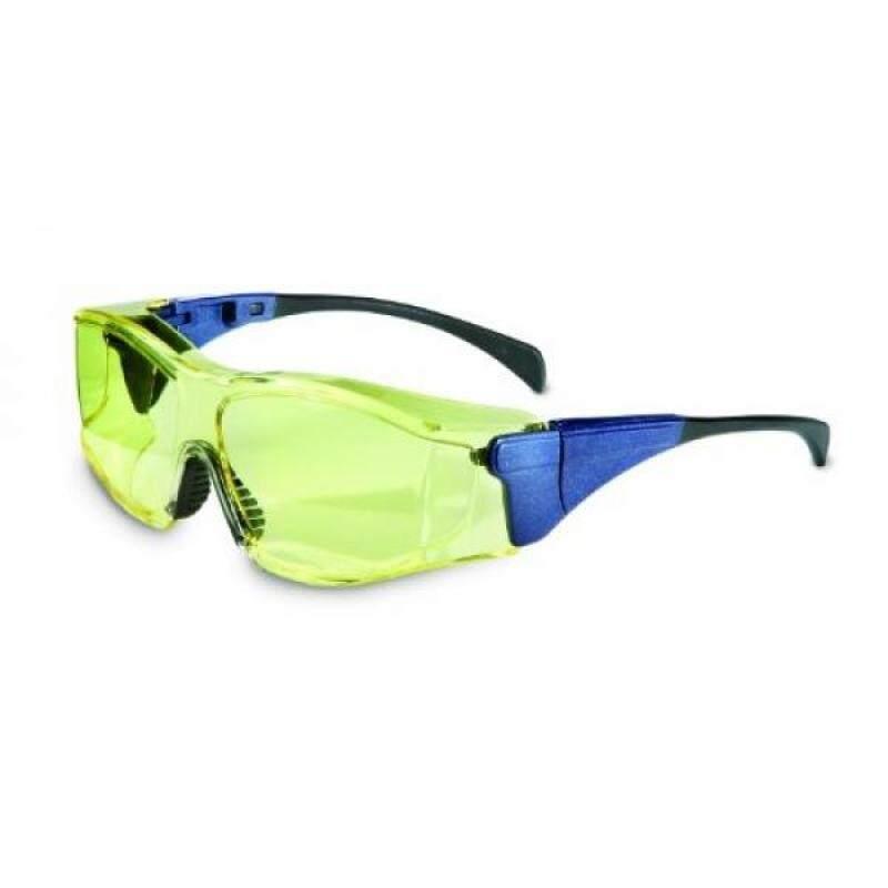 Buy [Seoul lamore]Uvex S3151X Ambient OTG Safety Eyewear, Large Blue Frame, Amber UV Extreme Anti-Fog Lens Malaysia