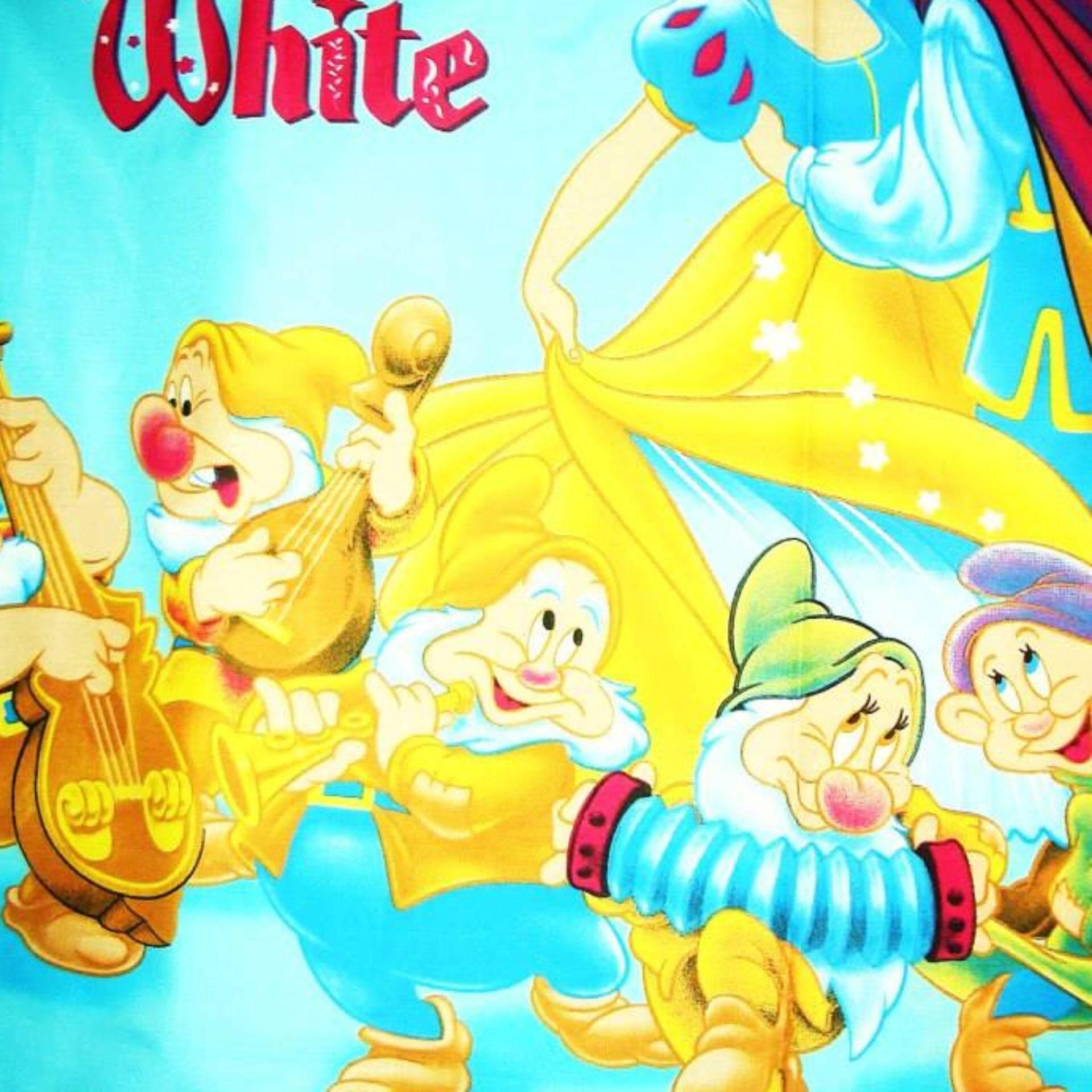 Set King Bedsheet & Comforter - PRINCESS SNOW WHITE