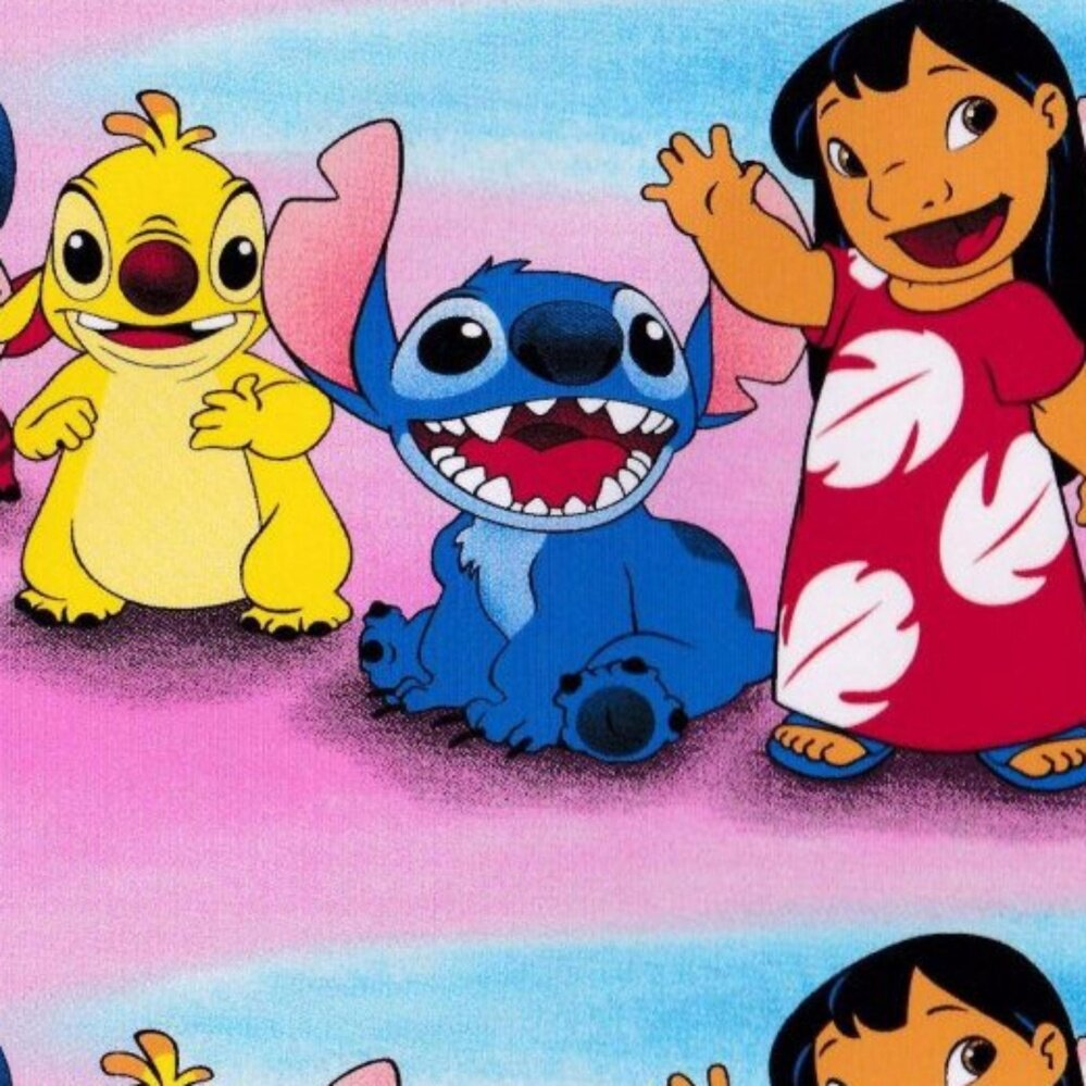 Set Queen Bedsheet - LILO AND STICH