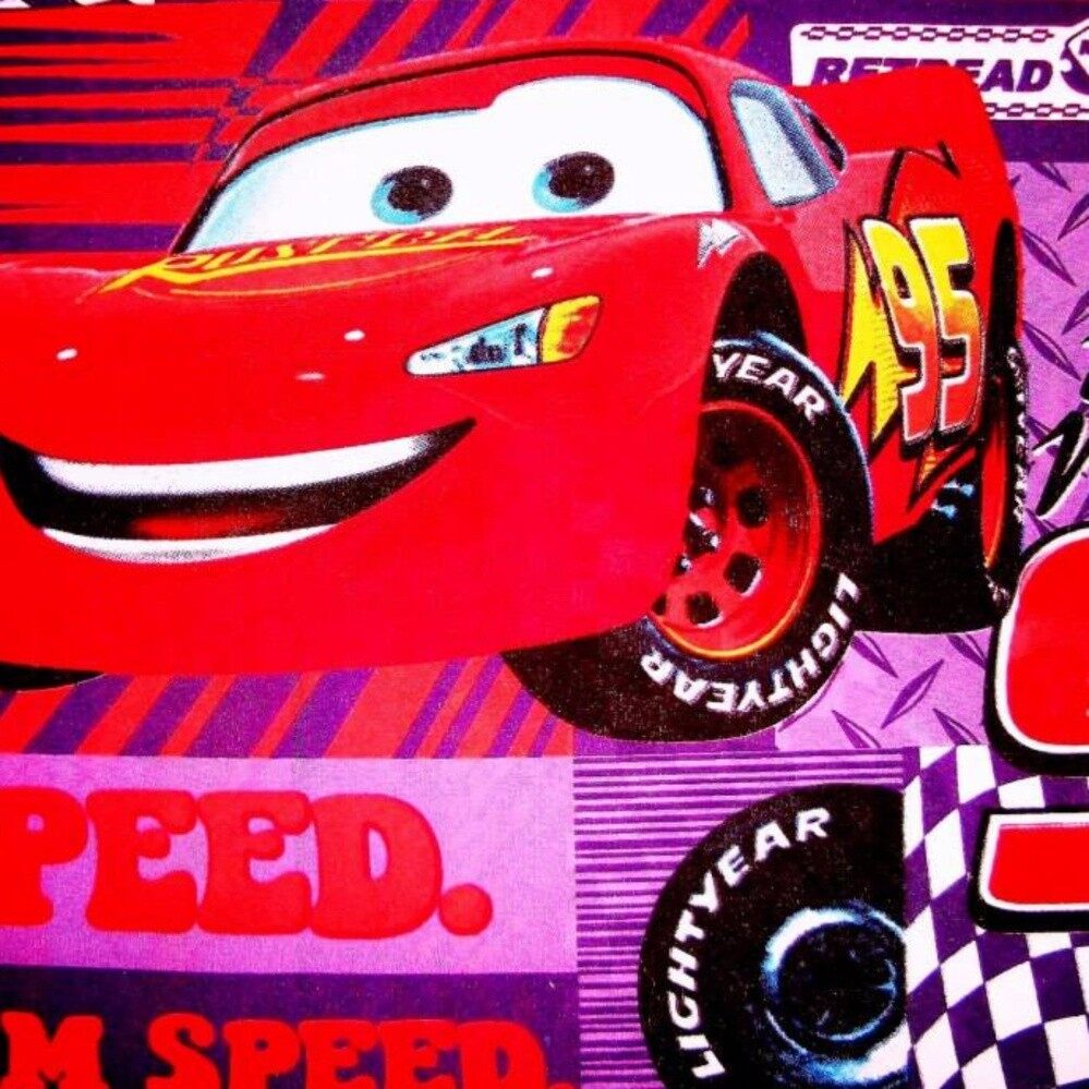 Set Single Bedsheet & Comforter - CARS MCQUEEN 95