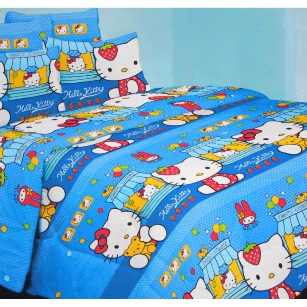 Set Single Bedsheet & Comforter - HELLO KITTY