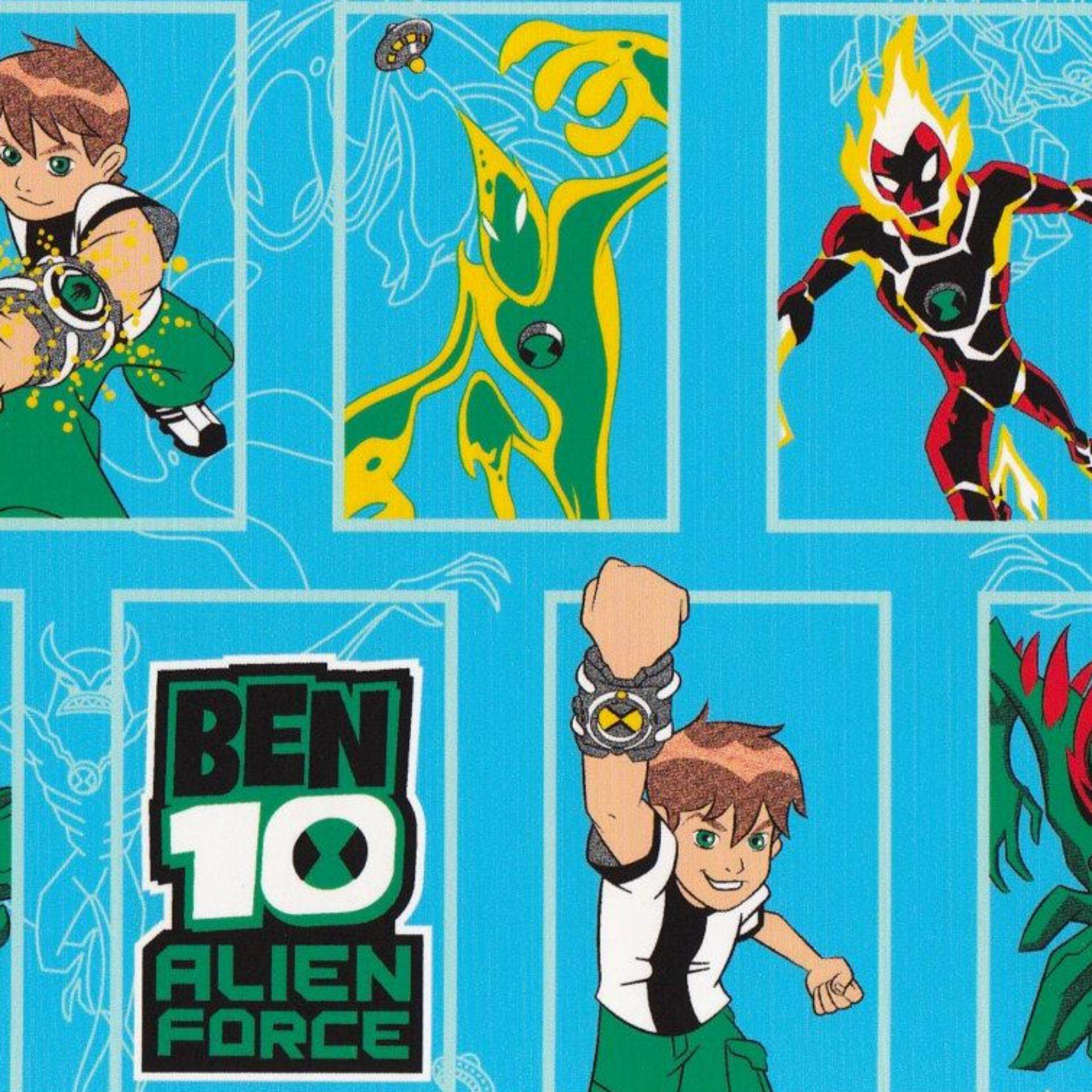 Set Single Bedsheet - BEN 10 BOX