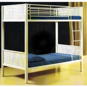 SG TAN Double Decker Metal Bed Frame