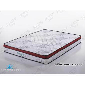 Harga SG TAN Panoramic 9 inch Spring Queen Size Mattress