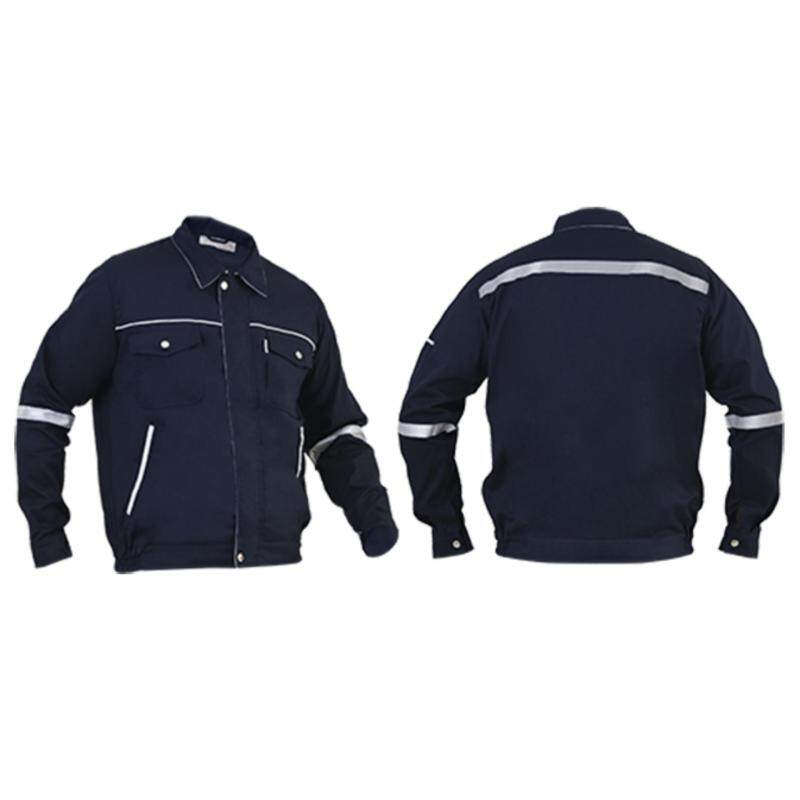 SHAMARR Pre Shrunk Safety Working Jacket (Size XXL)