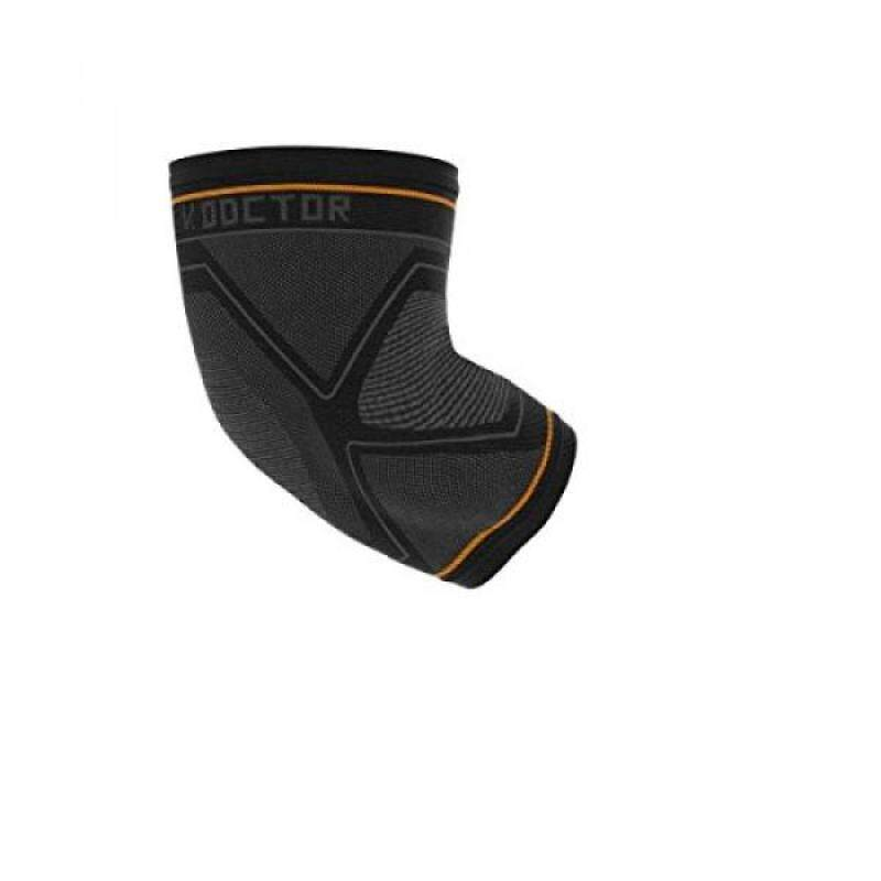 Buy Shock Doctor Compression Knit Elbow Sleeve with Gel Support, Black/Grey, Adult- Malaysia
