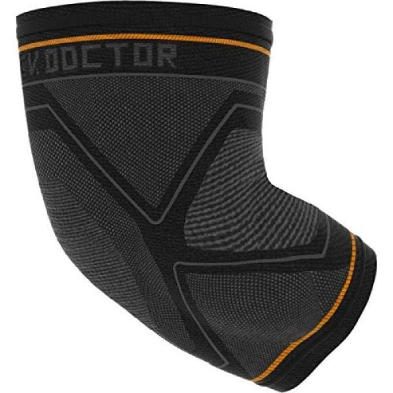 Buy Shock Doctor Ultra Compression Knit Elbow Support with Gel Support and Strap Adult Black/Grey Malaysia