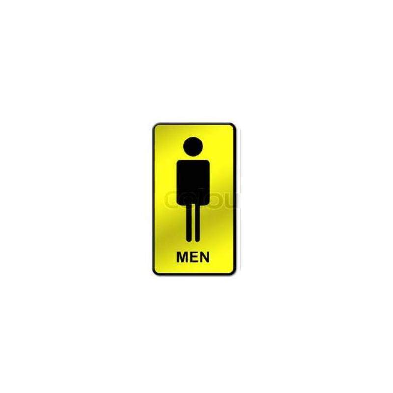 SIGN BOARD TOILET MAN (10pcs per pack)