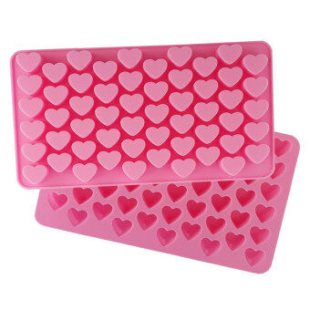 Harga Silicone Candy Chocolate and Soap Molds - Mold Pan Liner Use forIce Cube Trays, Homemade Soap, Chocolate, Gummy, Jello, Candy,Cakes