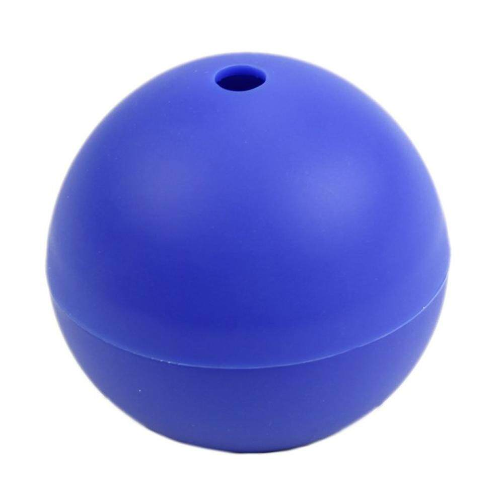 Silicone Wars Death Star Round Ice Cube Mold Tray Desert Sphere Mould DIY Tool Blue - intl