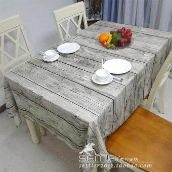 Simulation Retro Wood Tablecloth Linen Cloth Creative Dining Tablecloth  Coffee Table Cloth Cover Cloth Tablecloth Background