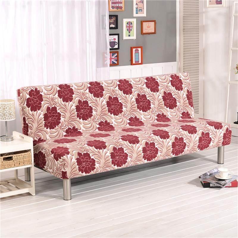 Ukuran Kecil Sofa Mewah Tebal Handuk Ketat Membungkus Semua Termasuk Slip-tahan Sofa Penutup Elastis Tidak Ada Sandaran Tangan Lipat sofa Tempat Tidur Sarung 160-180 Cm-Internasional