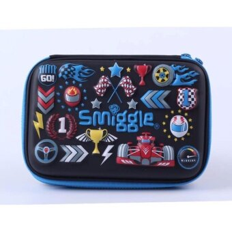Smiggle Hardtop Pencil Case - Racing Car