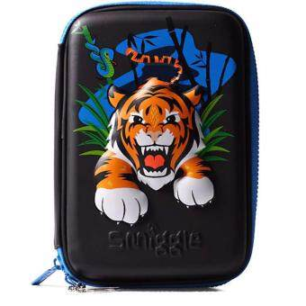 Smiggle Hardtop Pencil Case - Tiger Head