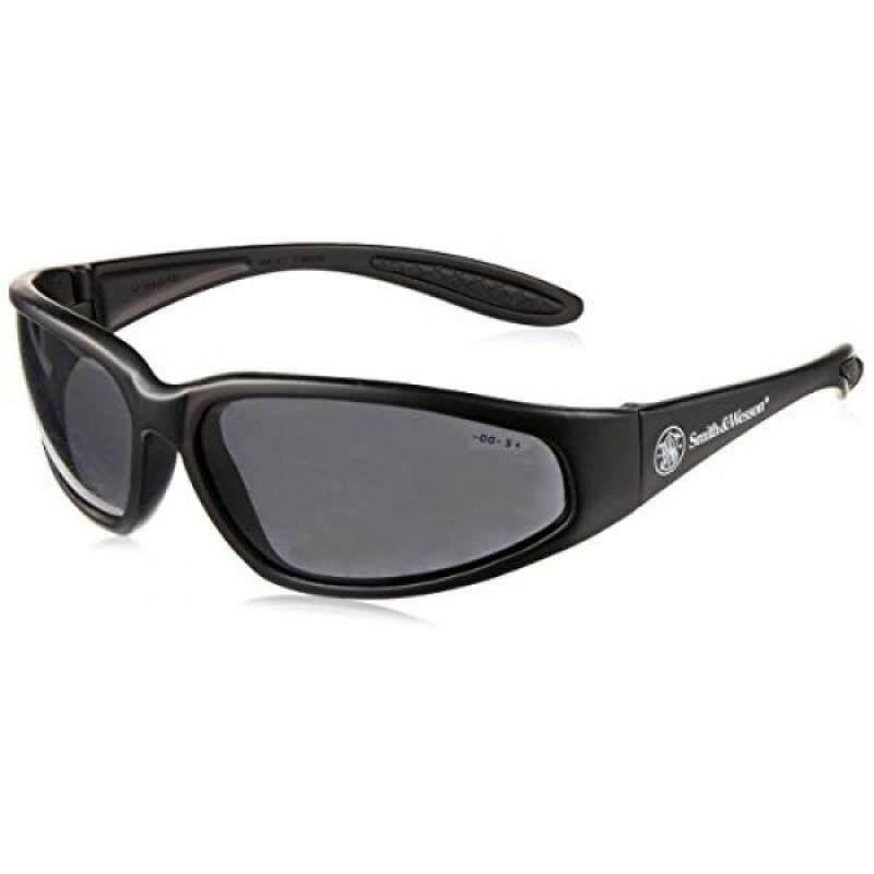 Buy Smith & Wesson 138-19859 38 Special Safety Eyewear, Polycarbonate Anti-Scratch Lenses, Black Nylon Frame, One Size, Smoke Malaysia