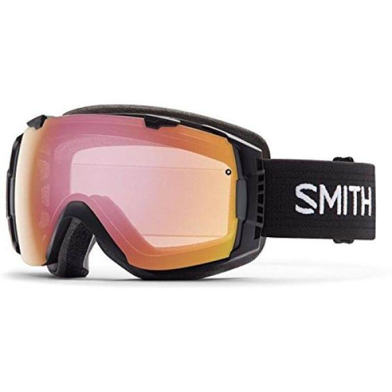 Buy Smith Optics I/O Adult Interchangable Series Snocross Snowmobile Goggles Eyewear - Black / Photochromic Red Sensor / Medium Malaysia