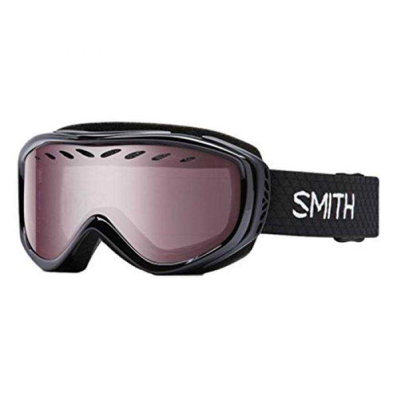 Buy Smith Optics Transit Women's Airflow Series Snow Snowmobile Goggles Eyewear - Black / Ignitor Mirror / Malaysia