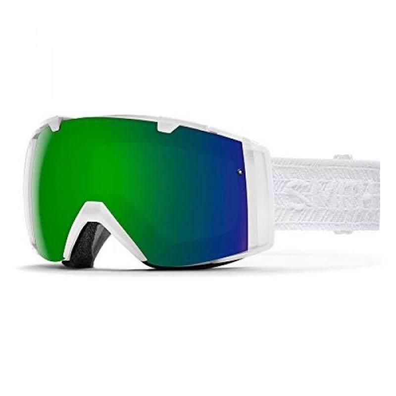 Buy Smith Womens I/OS Snow Goggles White Eclipse with Chromapop Sun and Chromapop Storm Lens Malaysia