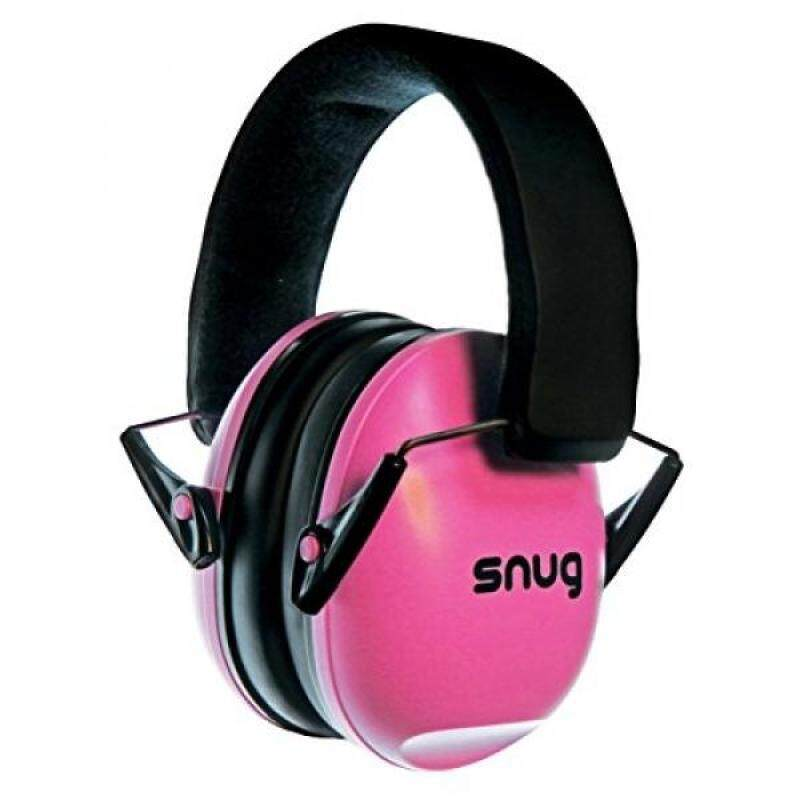 Buy Snug Kids Earmuffs / Best Hearing Protectors – Adjustable Headband Ear Defenders For Children and Adults (Pink) Malaysia