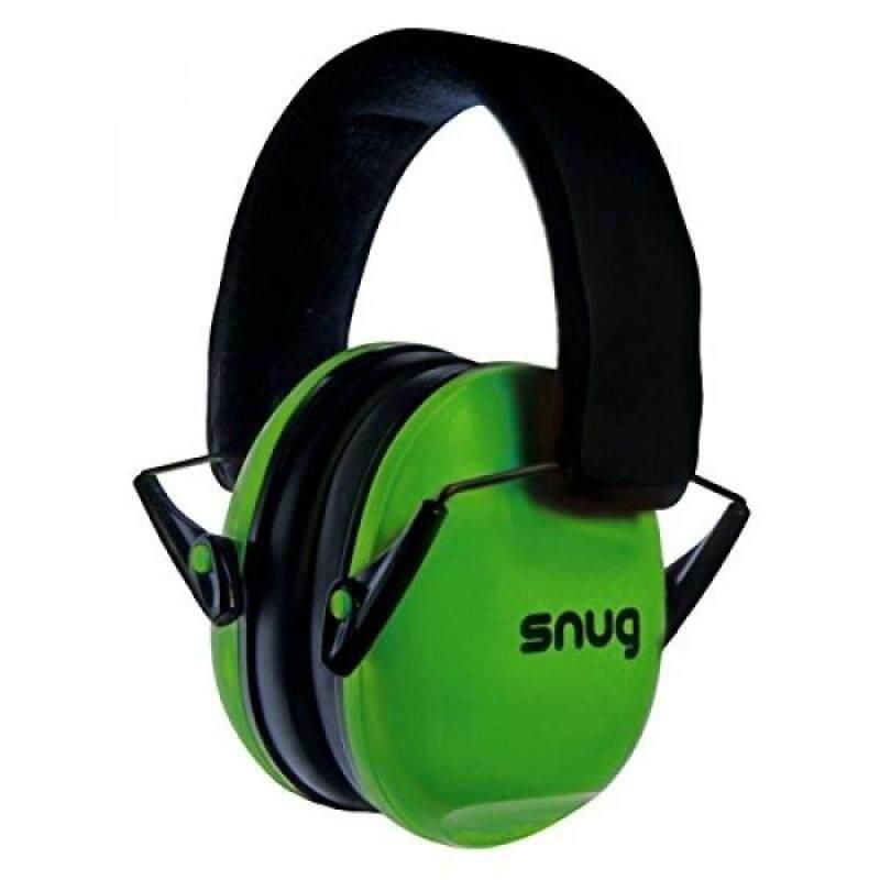 Buy Snug Kids Earmuffs / Hearing Protectors – Adjustable Headband Ear Defenders For Children and Adults (Green) Malaysia