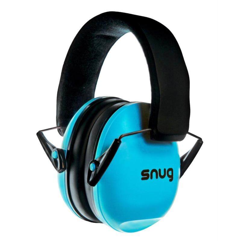 Buy Snug Safe n Sound Kids Earmuffs / Hearing Protectors Adjustable Headband Ear Defenders For Children and Adults (Aqua Blue) Malaysia