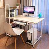 (RAYA 2019) SOKANO B217A Multipurpose Writing and Dekstop Table with Attached Multipurpose Shelf White Table with white frame(210370)
