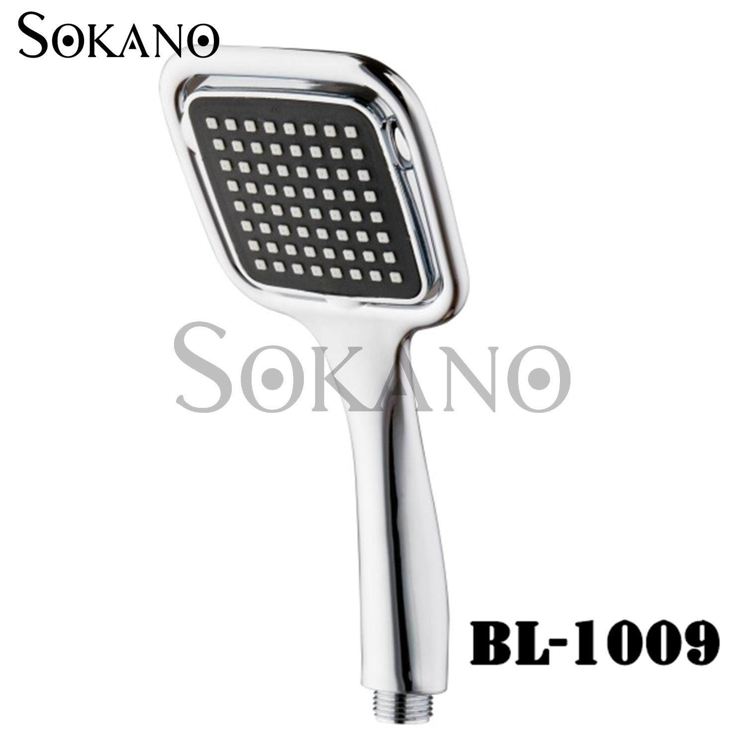 SOKANO BL-1009 Premium Water Saving Shower Sprayer Head (Compatible with Existing Shower Part)