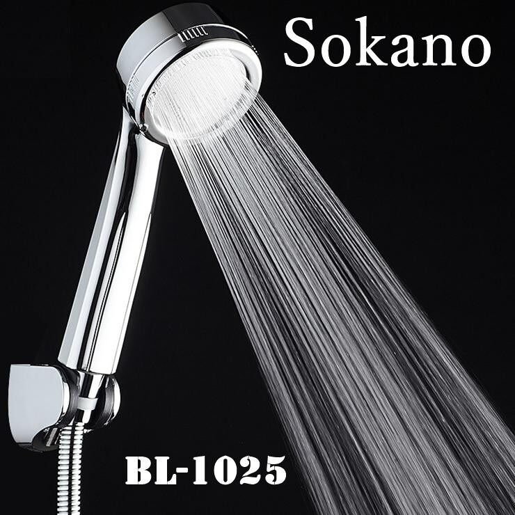 SOKANO BL-1025 Premium Water Saving Shower Sprayer Head (Compatible with Existing Shower Part)