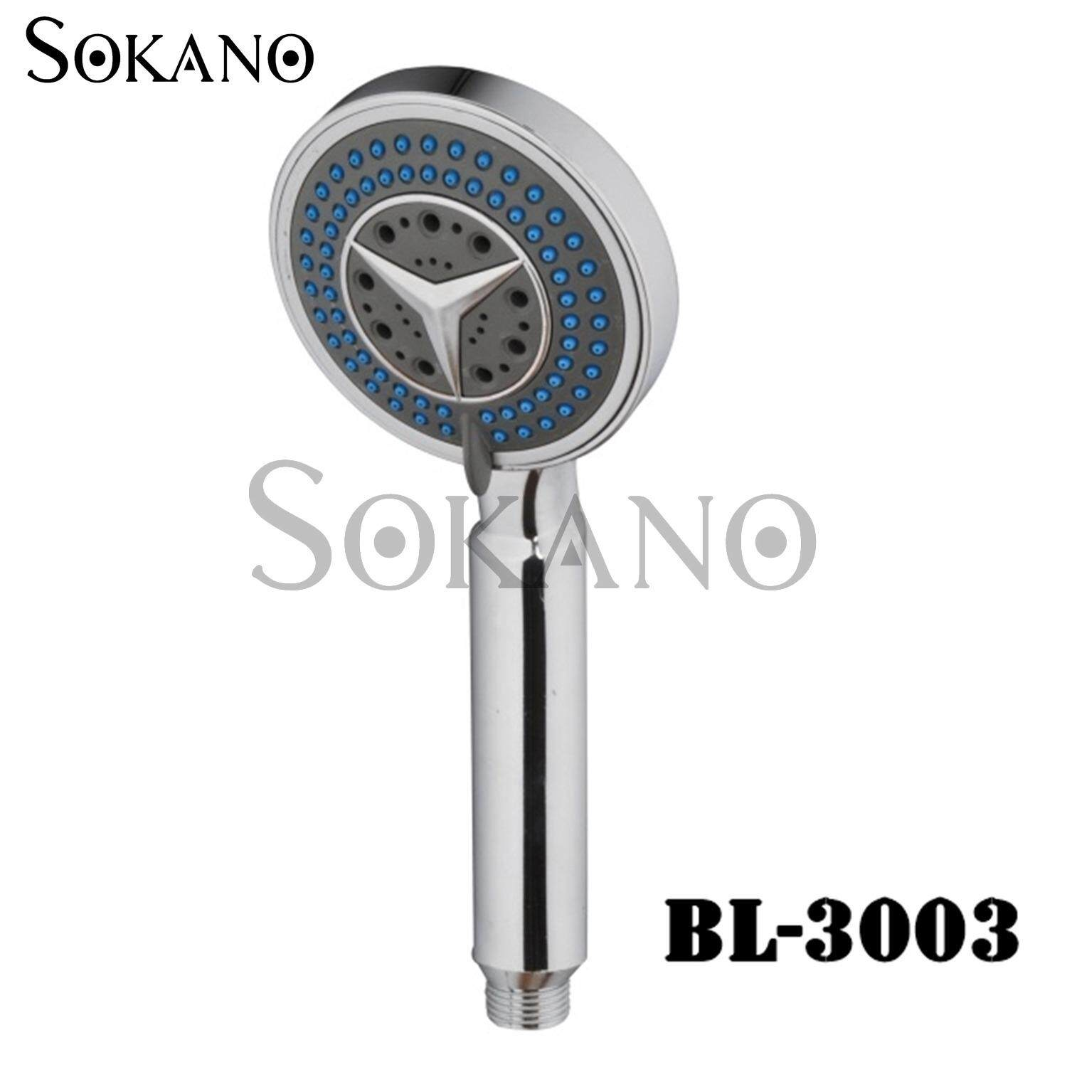 SOKANO BL-3003 Premium Water Saving Shower Sprayer Head (Compatible with Existing Shower Part)