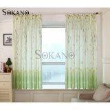 (RAYA 2019) SOKANO CT007 Premium Quality Printed Curtain (2 Panels) 200cm x 200cm- Green Butterfly Design