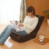(RAYA 2019) SOKANO Foldable Sofa With Adjustable Angle and Detachable Cover- Coffee