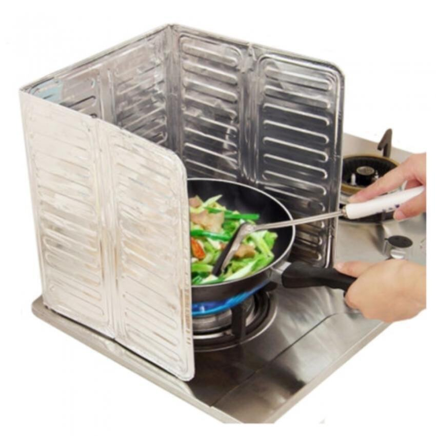 SOKANO Kitchen Dapur Oil Splash Foil Guard