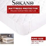 SOKANO LMP01 Premium Fitted Mattress Protector Cover