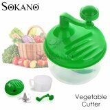 (RAYA 2019) SOKANO Manual Multifunctional Large Capacity Vegetable Cutter and Mixer