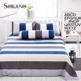 SOKANO SB009 4 in 1 Premium Bedsheet Set (Blue)