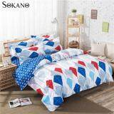 SOKANO SB015 4 in 1 Premium Bedsheet Bedding Set