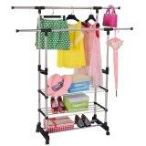 SOKANO Stainless Steel Cloth Hanger and Organizer Rack