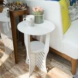 SOKANO WF012 2 Tiers European Style Coffee Table- White
