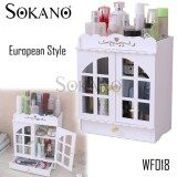 SOKANO WF018 European Style Bathroom Organizer with Doors and Drawer