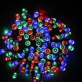 Solar 200 LED Fairy String Lights Outdoor Party Decorate Lights Color