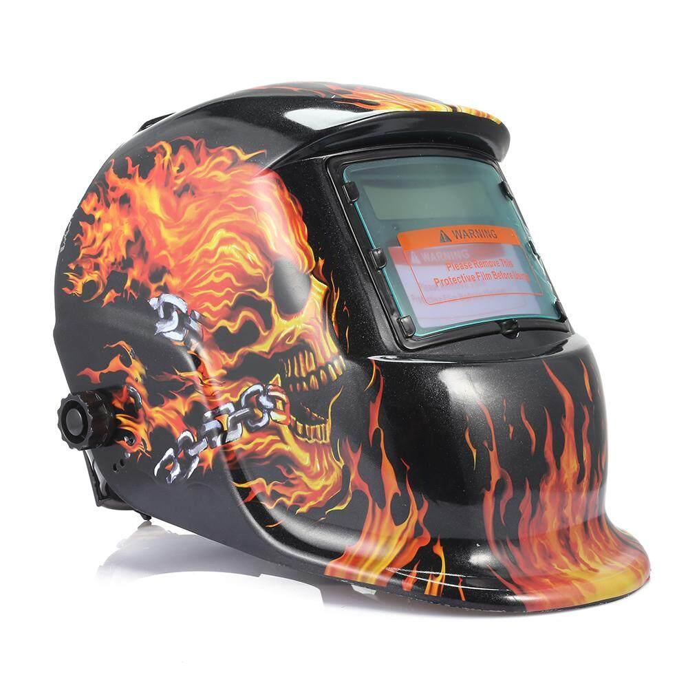 ซื้อ Solar Auto Darkening Welding Mask Helmet Welder Lens Grinding Electric Weld Cap Intl China Oem ถูก