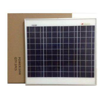 Harga Solar Panel 50 Watt Frame Mounted Technology