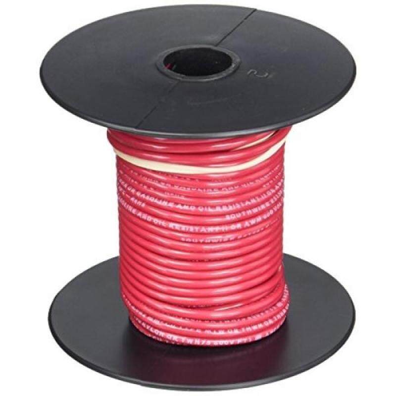 Buy Southwire 22957551 50-Feet 14-Gauge Stranded Thermoplastic, High Heat Resistant Nylon Jacket THHN Multi-Purpose Building Wire, Red Malaysia
