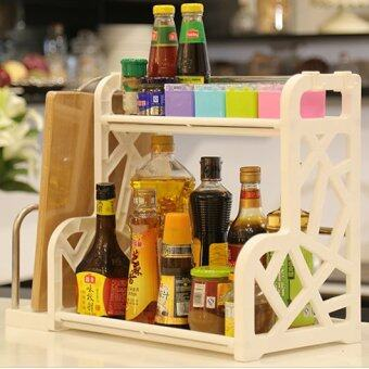 Space Saving Multipurpose Kitchen & Bathroom Storage Rack Shelf (With Chopping Board Compartment) - 2